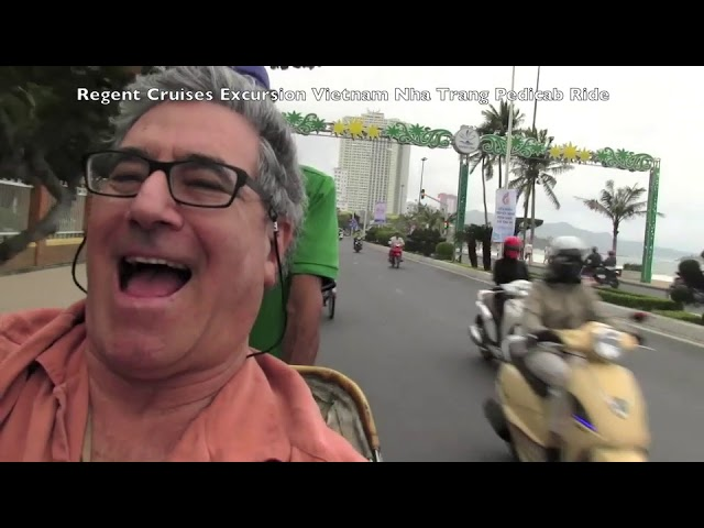 Regent Seven Seas Excursion - PediCab ride around Nha Trang, Viet Nam