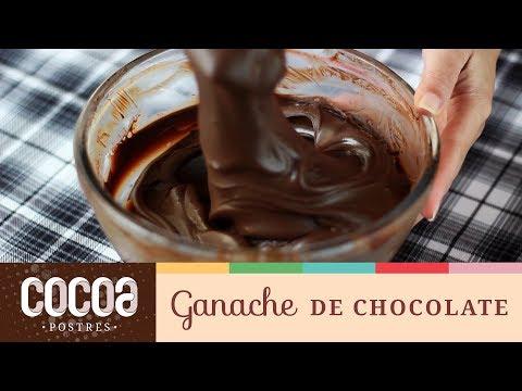 Como hacer Ganache de Chocolate // Cocoa Postres