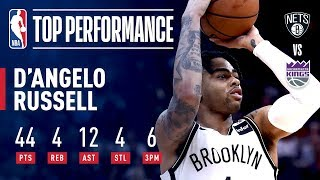 D'Angelo Russell's UNREAL 44 Point Career-High Performance | March 19, 2019
