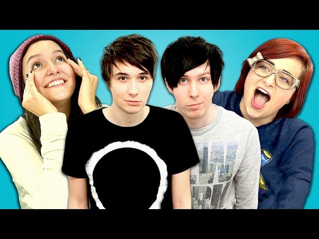 Teens React to danisnotonfire and AmazingPhil! Travel Video