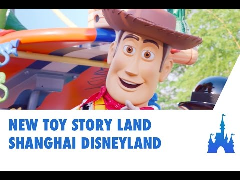 New Toy Story Land - Shanghai Disneyland