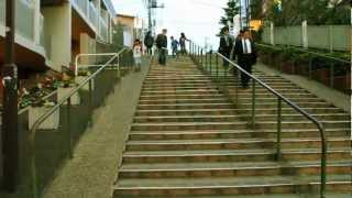 TOKYO PARKOUR CREW BOMBRAI FREEWEEL @YANAKA CITY (パルクール  谷中)