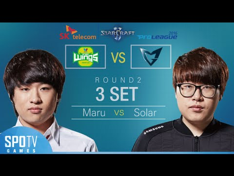 [SPL2016] Maru(Jin Air) vs Solar(Samsung) Set3 Dusk Towers -EsportsTV, Starcraft 2