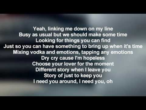 Drake - With You feat. PARTYNEXTDOOR (Lyrics Only)