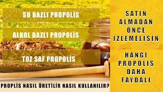 Propolis Nasıl Kullanılır Propolisin Faydaları Propolis Karışım Nasıl Yapılır İyi Propolis Hangisi