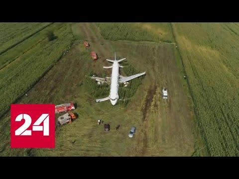Треть пассажиров аварийного самолета отказываются лететь в Симферополь - Россия 24