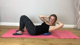 #46 Studio Scoop Pilates | Intermediate Level | Full body session with the ball