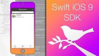 Swift 2 iOS 9 SDK - Урок 17 - Простейшая панель вкладок Tab Bar //Xcode 7 | iOS 9