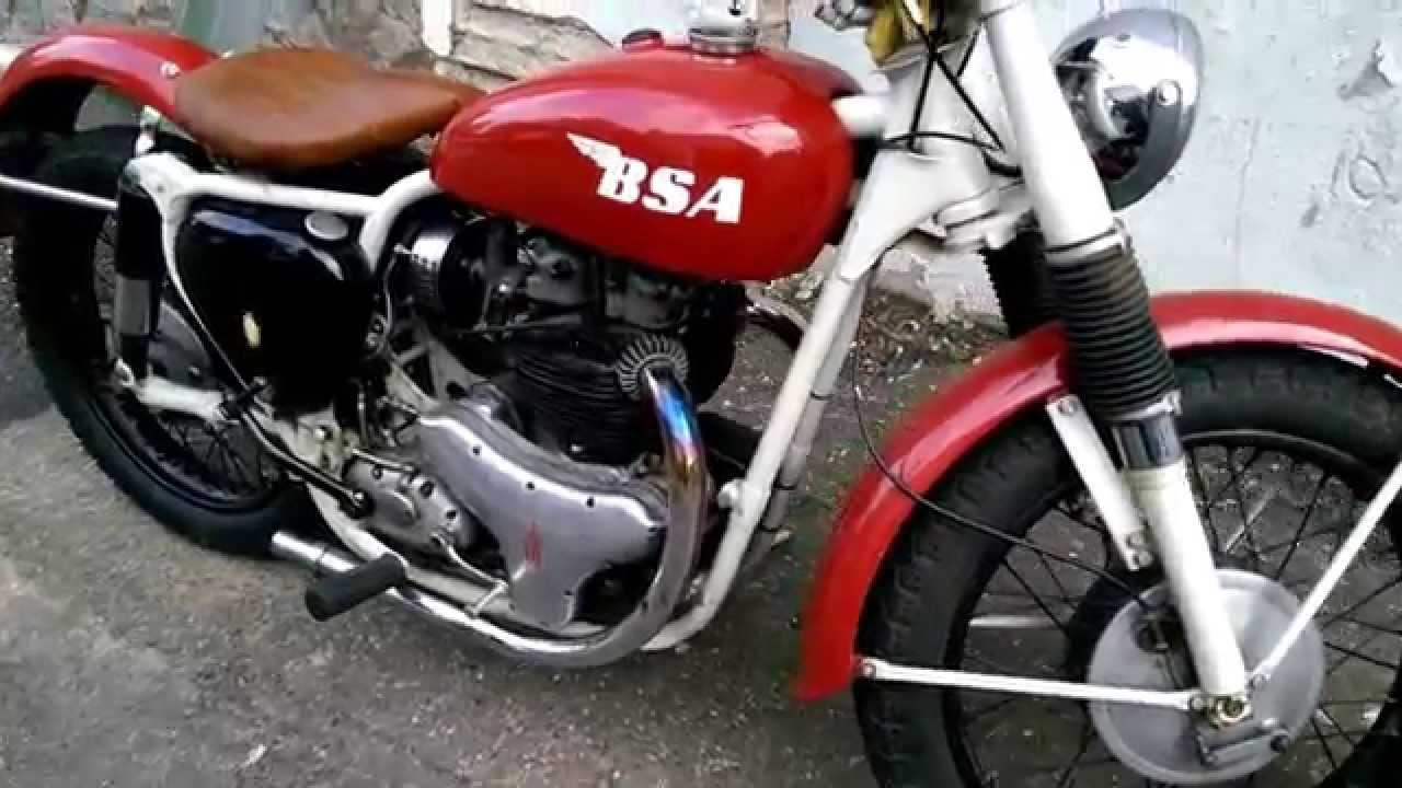 1959 Bsa Classic Motorcycle Youtube