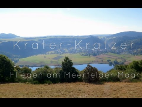Krater-Kratzer - Gleitschirmfliegen am Meerfelder Maar