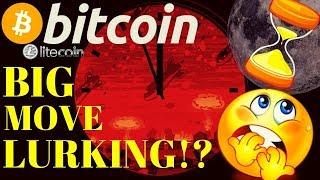🔥BIG BITCOIN MOVE LURKING !?🔥bitcoin litecoin price prediction, analysis, news, trading