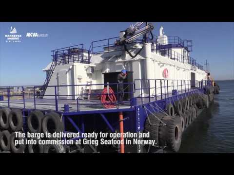 BLRT Marketex Marine barge launching
