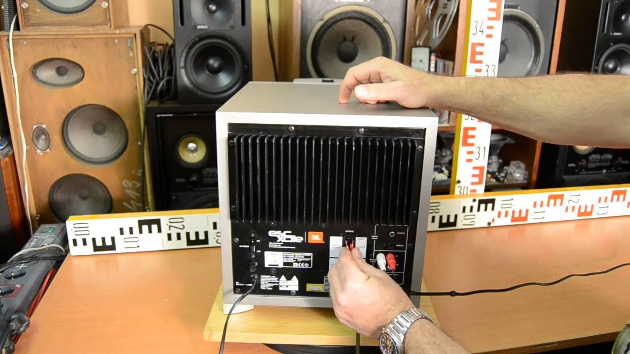 Jbl Surround Sound System Escxcite Subwoofer Bass