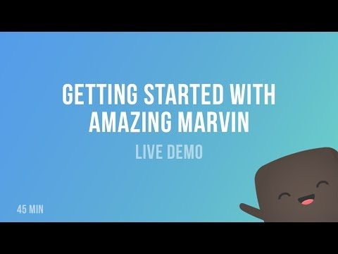 Getting Started with Amazing Marvin - Live Demo