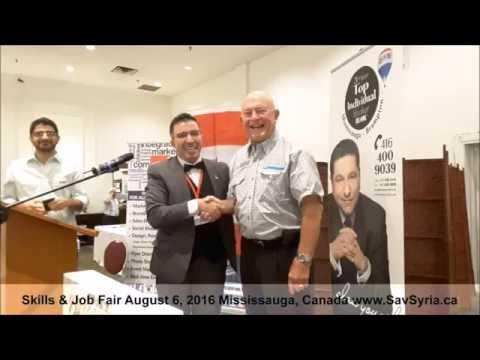 Sav Syria Job Fair August 6, 2016 Mississauga Canada