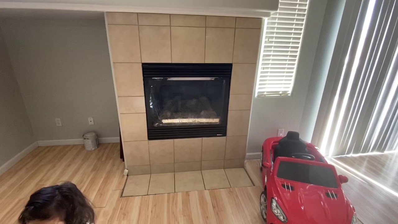 Supreme Empire builds a fireplace?!  Before & After!