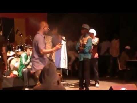 REDLION CHAMPION  freestyle en  gambie vs LIL OMZ