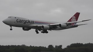 10+ Mins of Morning Spotting at Luxembourg Airport (HD)