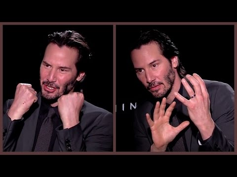 Keanu Reeves on taking his shirt off - and the physical pain of playing Neo in The Matrix (47 Ronin)