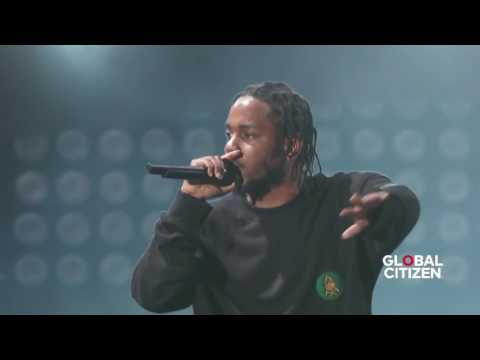 Kendrick Lamar Alright  Live At Global Citizen Festival 2016