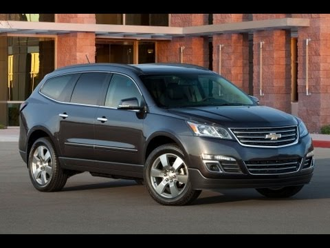 2013 Chevrolet Traverse Start Up and Review 3.6 L V6