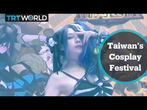 Taiwan's performance art festival draws large crowds in Taipei