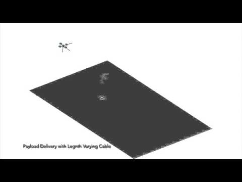 Payload Delivery with Quadrotor UAV by Length Varying Cable