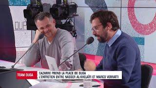 Cazarre s'est procuré l'entretien entre Verratti et Al-Khelaïfi pour la prolongation de l'Italien