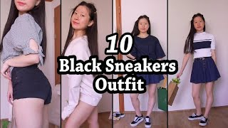 Black SneakersOutfit Ideas | 검…