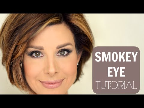 Taupe Smokey Eye Tutorial