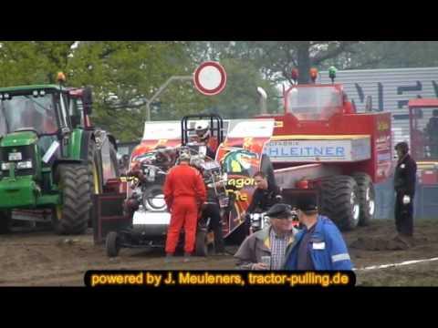 Dragon Fire Tractor Pulling Hassmoor 2010
