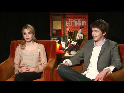Sugarscape's Freddie Highmore and Emma Roberts interview (The Art of Getting By)