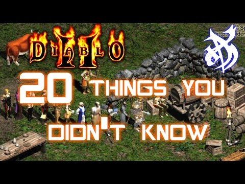 20 Things You Didn't Know About Diablo 2