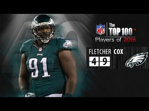 #49: Fletcher Cox (DT, Eagles) | Top 100 NFL Players of 2016