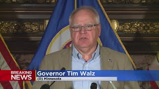 Gov. Walz Deploys National Guard To Minneapolis