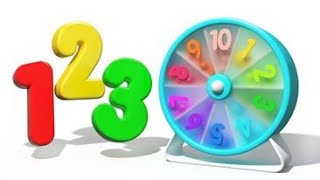 Evan Kids - Learn Numbers - 3D Wheel Count 1 to 10 for Kids | KidMission100