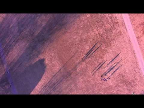 BROLL   Flight Footage   Marine Training Springfield Missouri Cowden Elementary School January 2015
