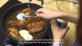 How To Make Amazing Chicken Adobo With Lady's Choice Real Mayonnaise
