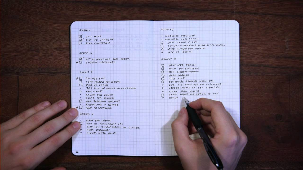 Bullet Journal - YouTube