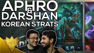 Aphro & Darshan - Korean Strats - Korean Solo Queue Funny Moments