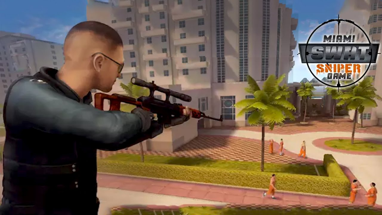 Miami Swat Sniper Game By Vascogames Android Gameplay Hd Youtube
