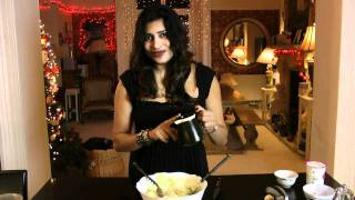 How to make the Hungarian Cucumber salad-Nisha Katona