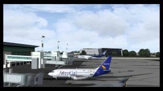 FS2004 Singapore Airlines A380 visits Ecuador.!! (SEGU)