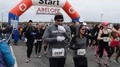 Start of the 2016 Run for the Red Pocono Marathon
