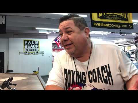 BOXING TRAINING WITH EFRAIN MARTINEZ OF PALM BEACH BOXING