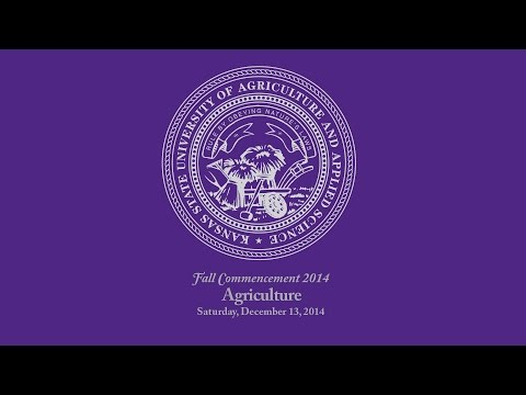 K-State Commencement - Fall 2014 | Agriculture