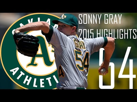 Sonny Gray | Oakland Athletics | 2015 Highlights Mix | HD