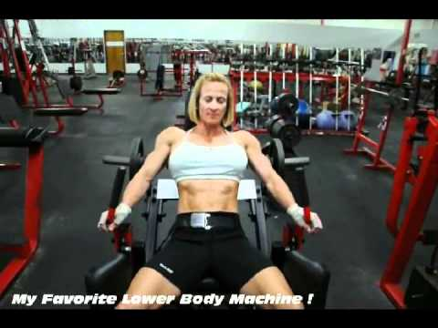 Holly Chambliss, a short video of her favortie lower body machine.