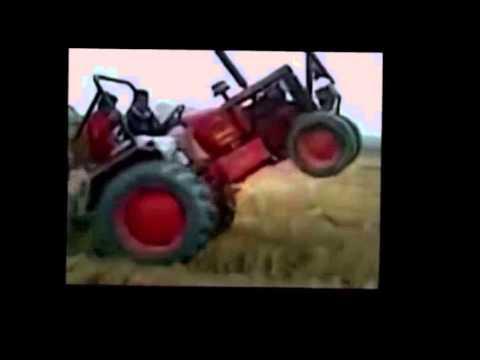 Unfälle:Traktor -Lustige Traktor Video-トラクターの事故  Tractor Fails  