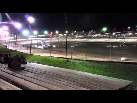 Peoria Speedway 4/2/16 Opening Night - Crate Modified - Liescke #55